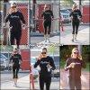 Jen sortant de la gym - le 6 Octobre -