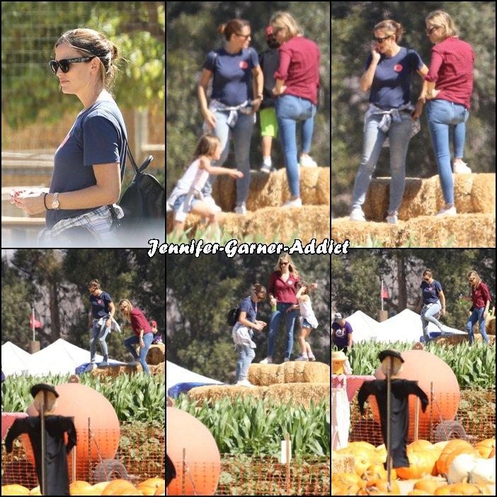 Jen et Séraphina à la ferme - le 5 Octobre -