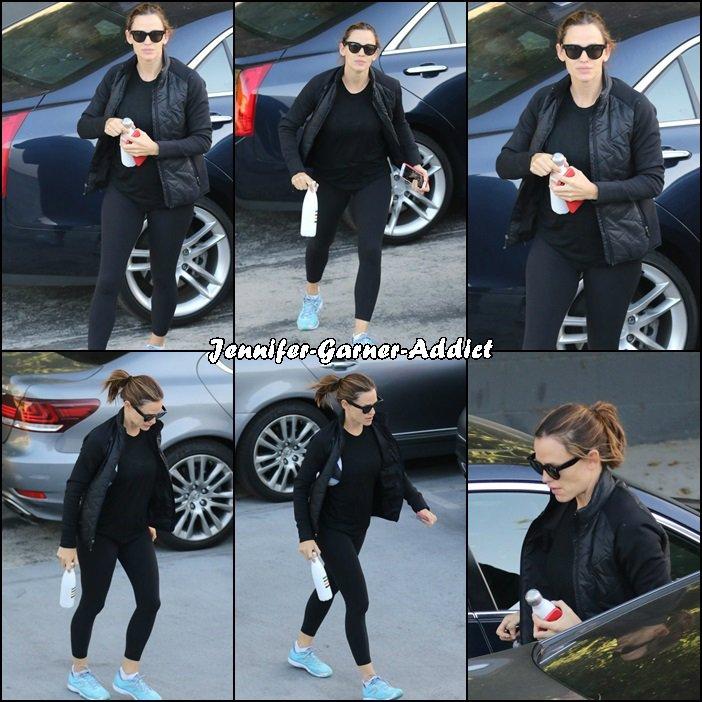 Jen a été à la gym - le 7 Octobre -