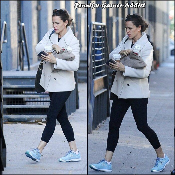 Jen allant à la gym - le 26 Octobre -