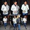 Jen sortant d'un restaurant avec son agent - le 26 Octobre -