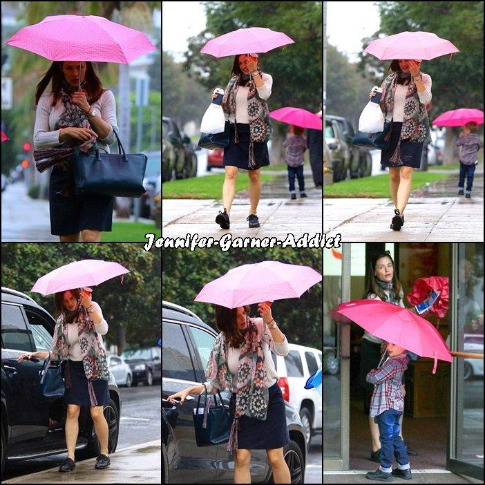 Jen et les enfants sous la pluie - le 30 Octobre -
