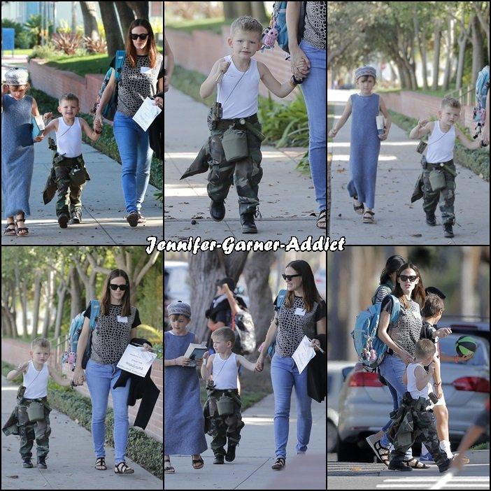 Jen, Ben et les enfants fêtent halloween - le 31 Octobre -