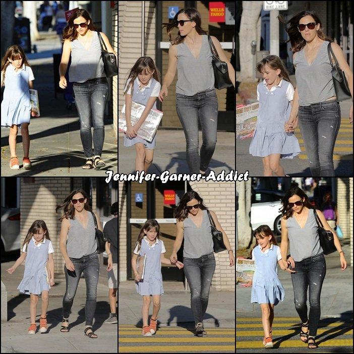 Jen a été chercher Séraphina à l'école - le 10 Novembre -
