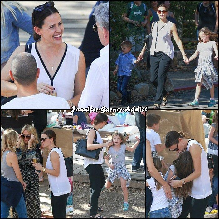 Jen et les enfants sont allés à une animation en plein air - le 13 Novembre -