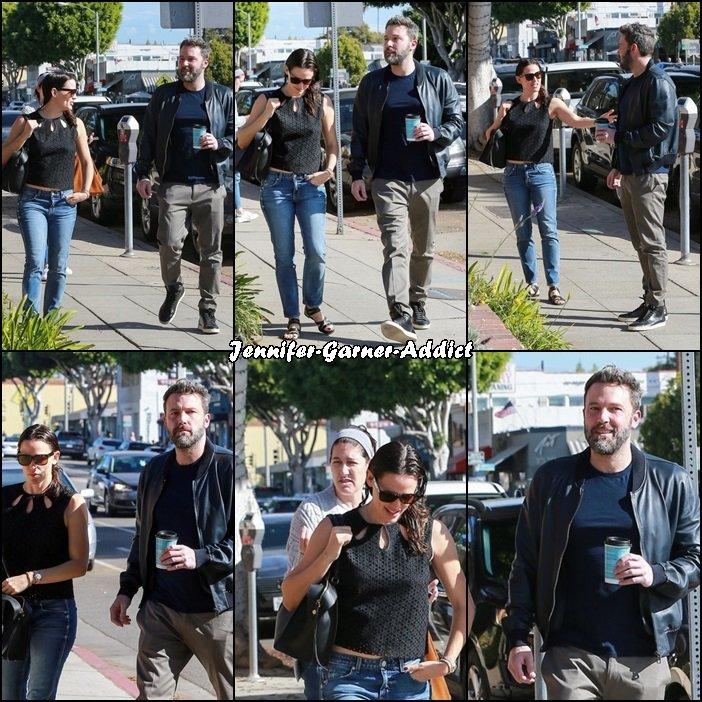 Jen et Ben sont allés boire un café - le 19 Novembre -