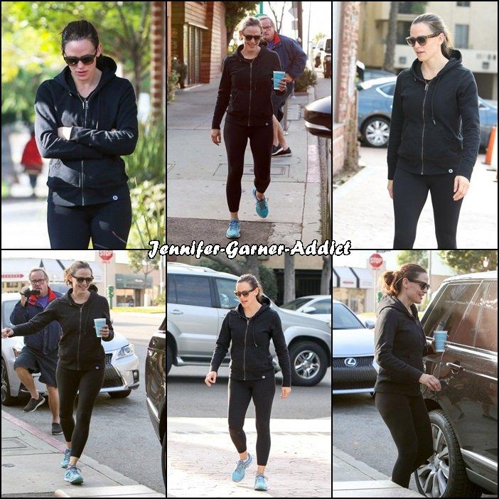 Jen sortant de la gym - le 26 Novembre -