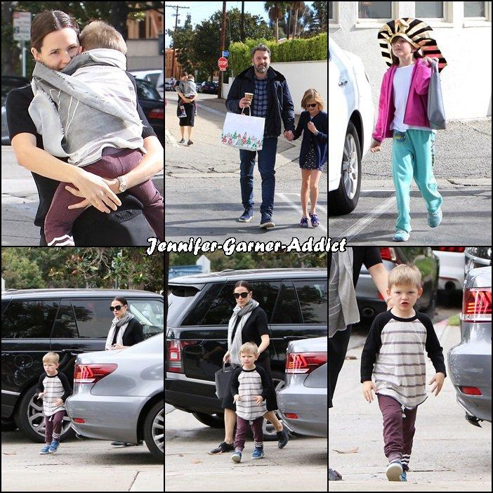 Jen, Ben et les enfants sont allés à l'église - le 27 Novembre -