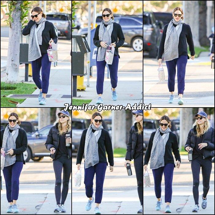 Jen sortant de la gym - le 30 Novembre -