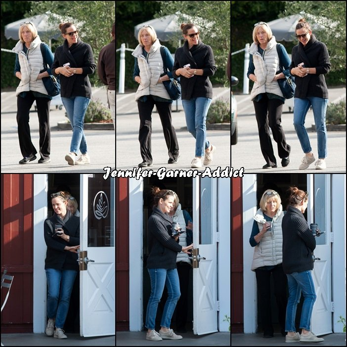 Jen et Chris, la mère de Ben sont allées chercher un café (pour la petite histoire, c'était le jour de l'anniversaire de Violet ) - le 1er Décembre -