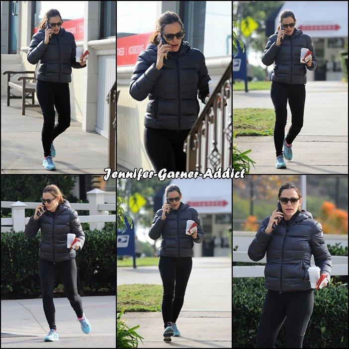 Jen a été se chercher un café - le 7 Décembre -