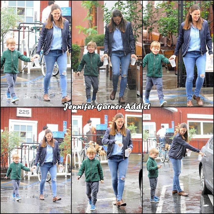 Jen et Samuel sont allés chercher un café (pas pour Samuel vous l'aurez compris!!!) - le 5 Janvier -