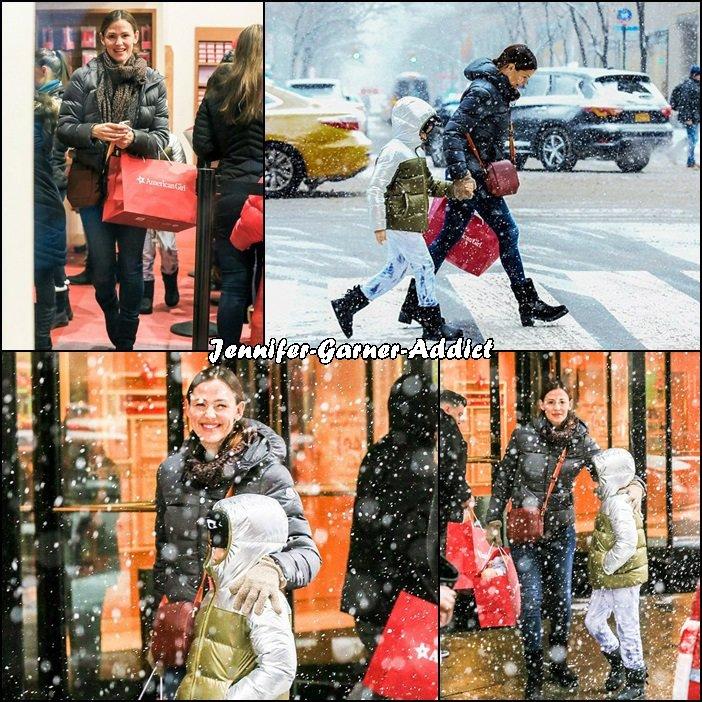 Jen et Séraphina à New York - le 7 Janvier -