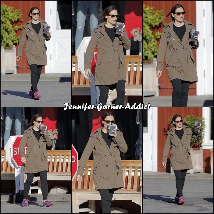 Jen et Samuel sont allés au Brentwood Market - le 17 Janvier -