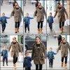 Jen et Samuel sont de sortie pour quelques courses matinales - le 19 Janvier -