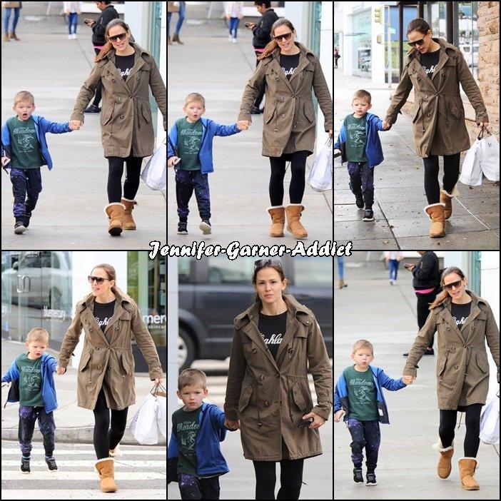 Jen et Samuel sont allés amener Séraphina à l'école - le 19 Janvier -