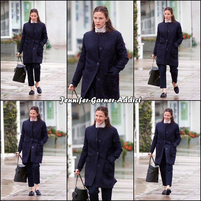 Jen a été chercher Samuel et Séraphina à l'église - le 22 Janvier-