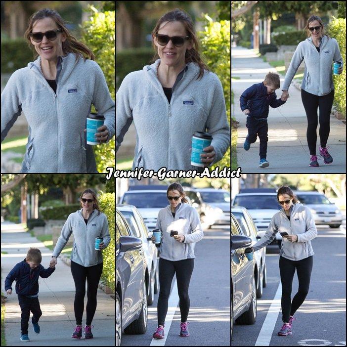 Jen et Samuel sans les rues de LA - le 6 Mars -