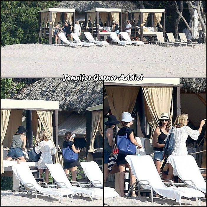 Jen était à Mexico avec des amis - le 11 Mars -