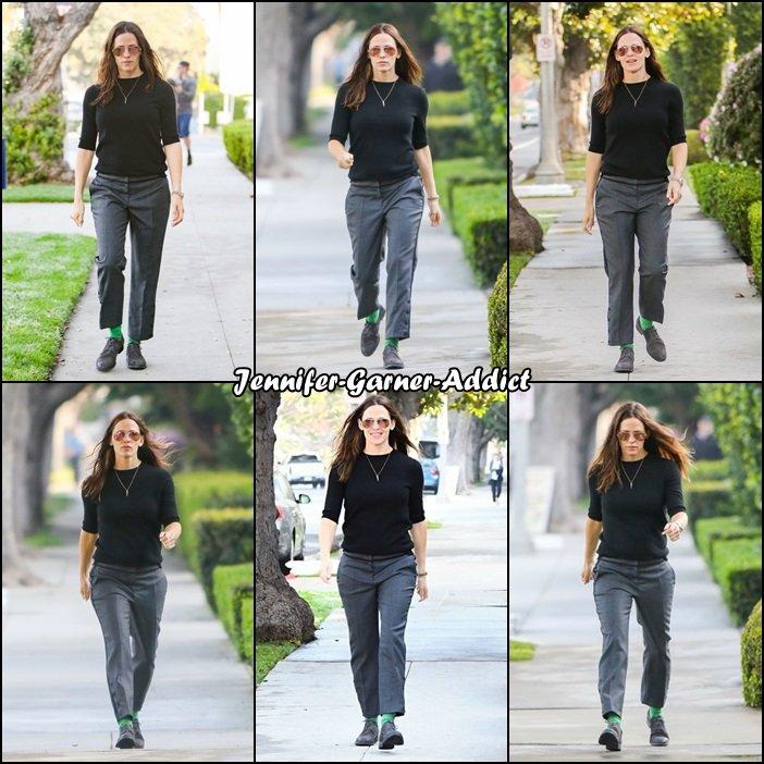 Jen a été chercher les filles à l'école - le 17 Mars -