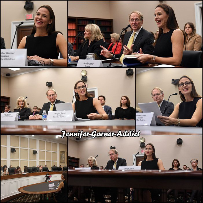 "Jen lors de son intervention au Capitole à Washington DC devant la chambre Labor, Health and Human Services, Education, and Related Agencies subcommittee pour ""Investing in the Future – Early Childhood Education Programs at the Department of Health and Human Services"" - le 16 Mars"