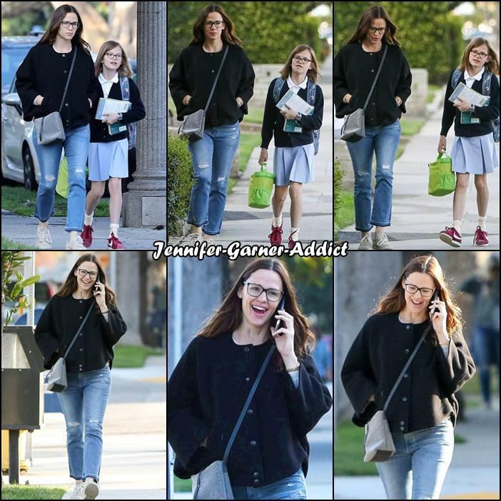 Jen a été amener Violet à l'école - le 24 Mars -