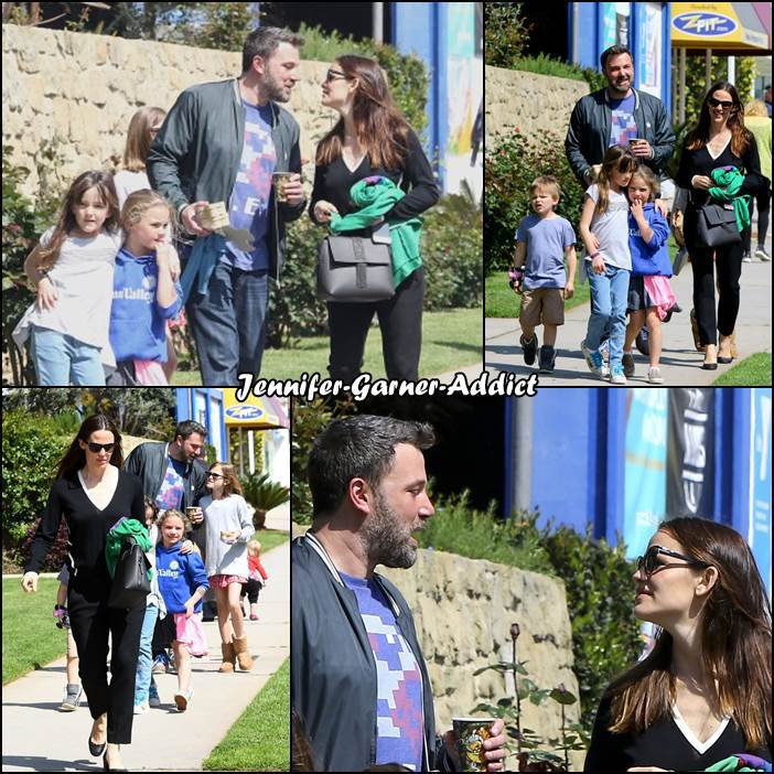 Jen, Ben et les enfants à l'église - le 26 Mars -