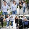 Jen avec son agent - le 8 Avril -