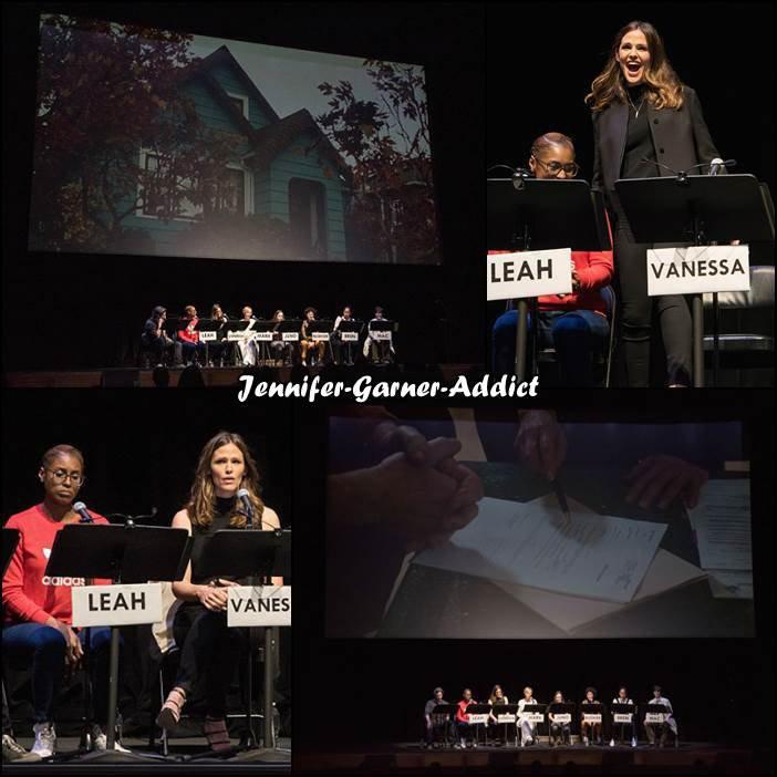 Jen a été à la lecture de Juno (elle tient le role de Vanessa) organisée au bénéfice de Planned Parenthood à Los Angeles - le 8 Avril -