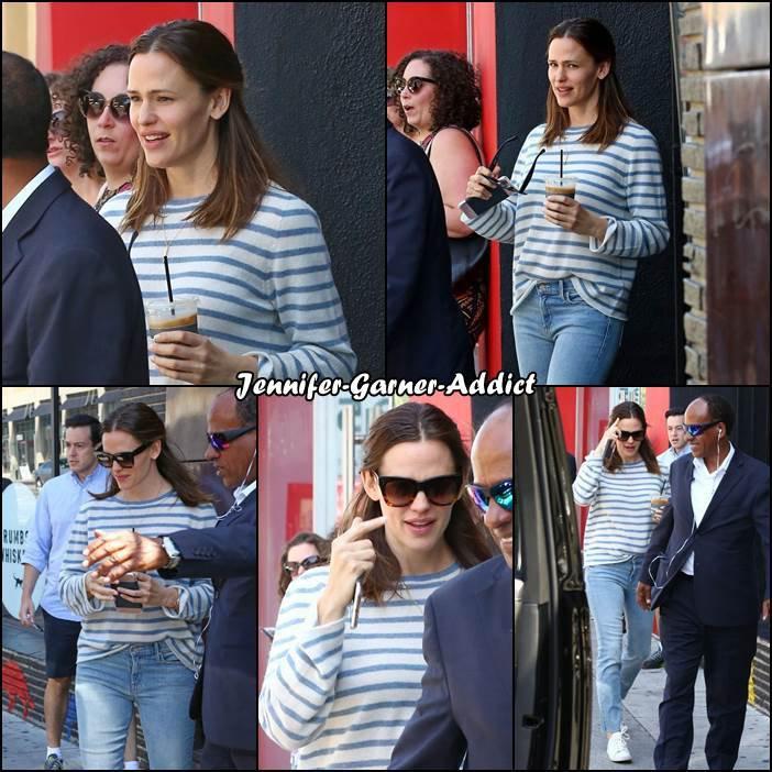 Jen à West Hollywood - le 15 Avril -