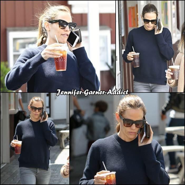 Jen a été chercher un café - le 18 Avril -