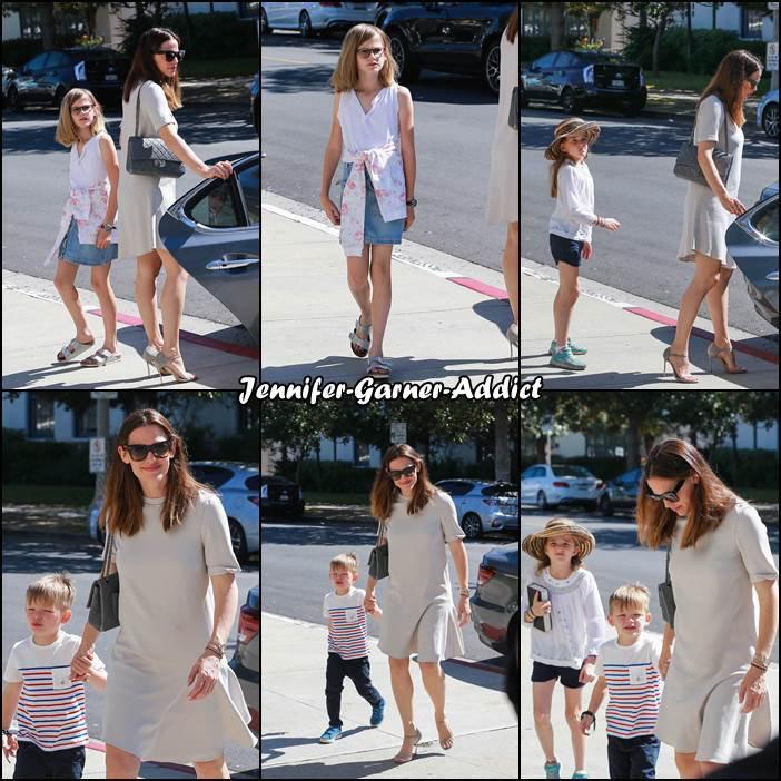 Jen, Ben et les enfants sont allés à l'église - le 30 Avril -