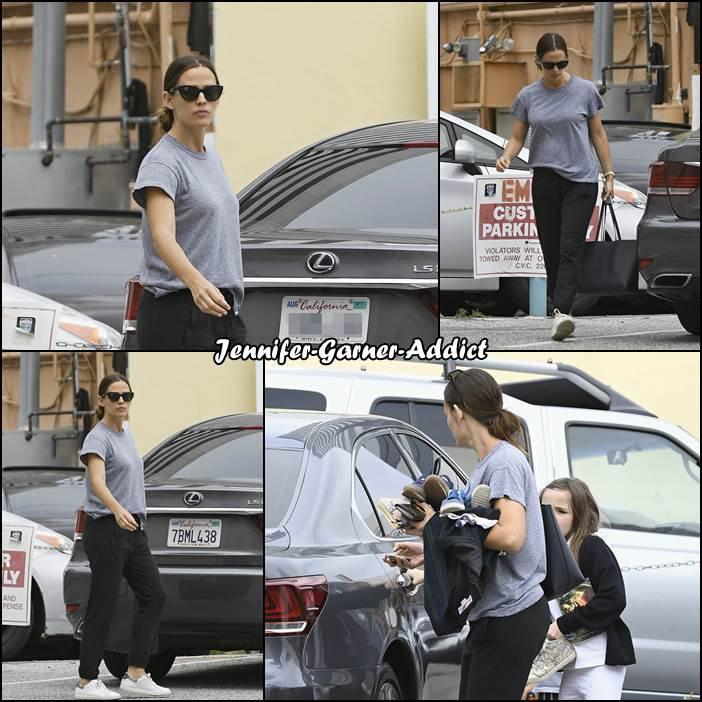 Jen et Séraphina sont allées faire quelques courses - le 5 Mai -