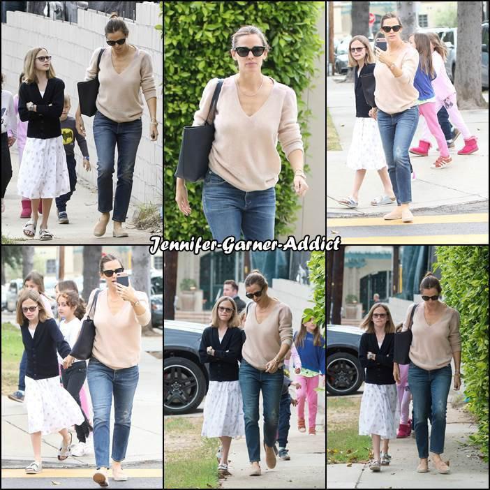 Jen, Ben et les enfants sont allés à l'église - le 8 Mai -