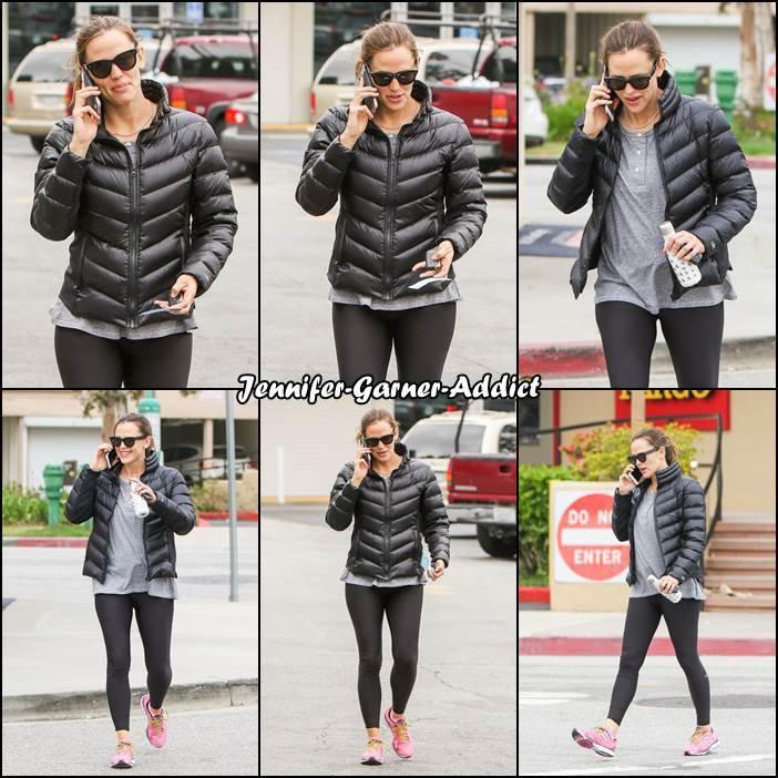 Jen a été à la gym - le 12 Mai -