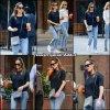 Jen est à New York avec son agent et fait quelques courses - le 17 Mai -