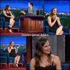 Jen lors de l'enregistrement du Late Show With Stephen Colbert - le 18 Mai - à NY