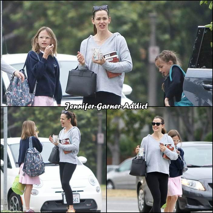 Jen a amené les filles à l'école - le 31 Mai -