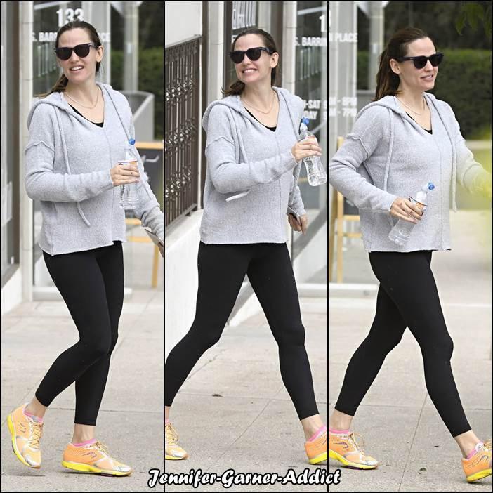 Jen a été à la gym - le 31 Mai -
