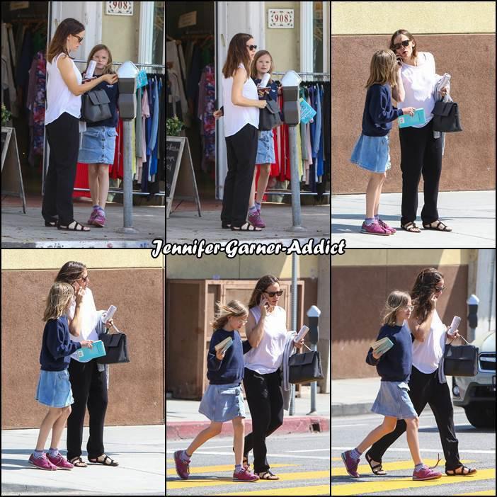 Jen a passé un moment avec Violet - le 1er Juin -