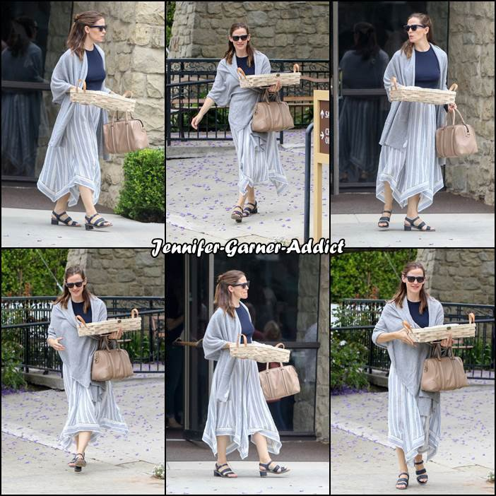 Jen est allée à l'église - le 4 Juin -