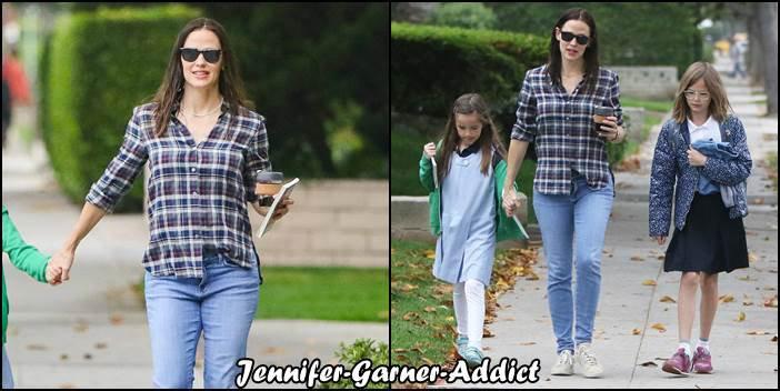 Jen a amené les filles à l'école - le 6 Juin -