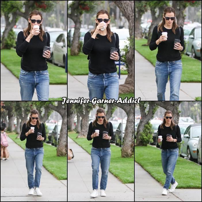 Jen a été chercher un café - le 7 Juin -