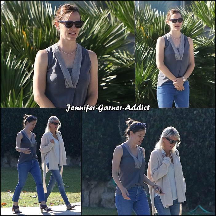 Jen et une amie à Santa Monica - le 9 Juin -