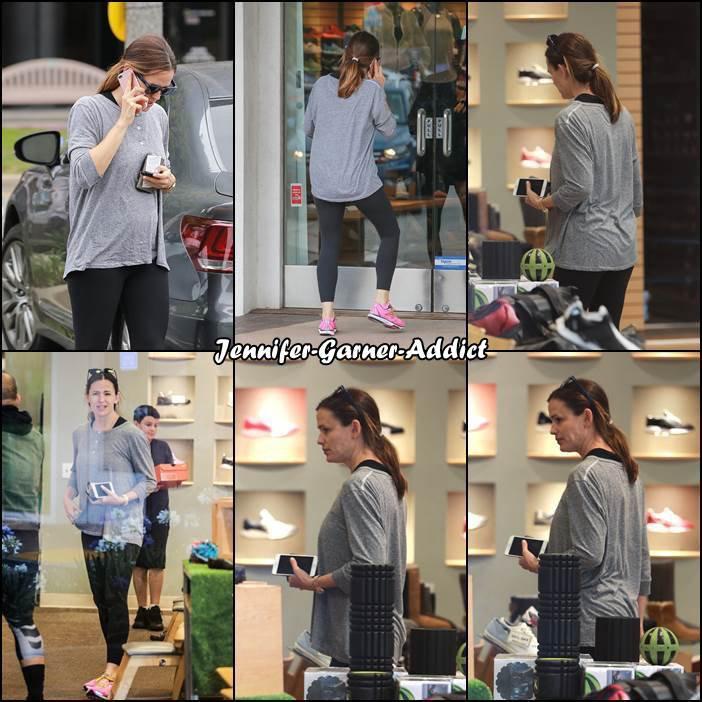 Jen a été acheter des chaussures de sport - le 10 Juin -