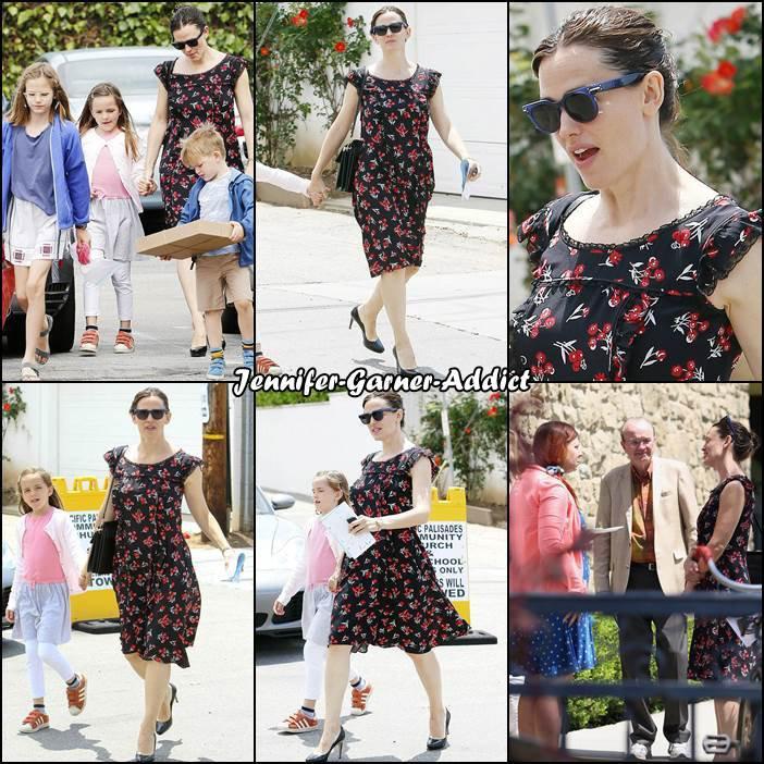 Jen et les enfants sont allés à l'église - le 11 Juin -