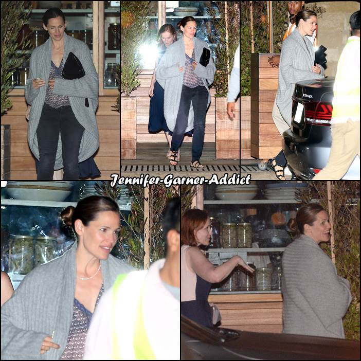 Jen a été manger avec une amie au restaurant - le 30 Juin -