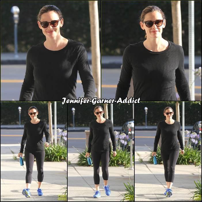 Jen a été à la gym - le 8 Juillet -