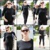 Jen allant à la gym - le 21 Juillet -