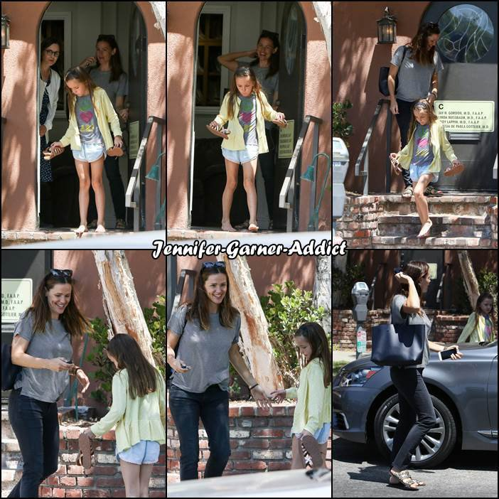 Jen et Séraphina sont allées chez le médecin - le 19 Aout -